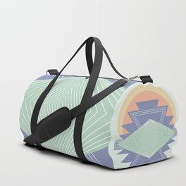 PASTEL DREAM RAYS Duffle Bag