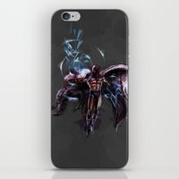 magneto iPhone & iPod Skins featuring Magneto  by Bigcookben