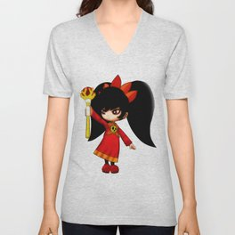Ashley Unisex V-Neck