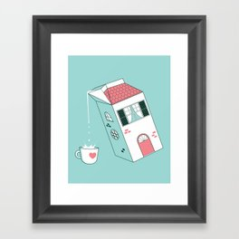 Housepour Framed Art Print