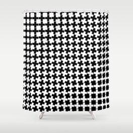 Crosses III Shower Curtain