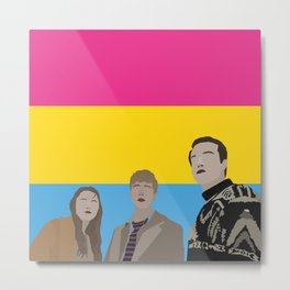 In The Pansexual Flesh Metal Print