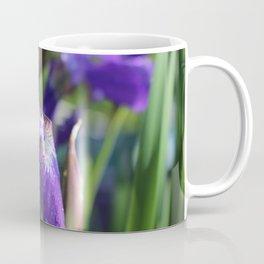 Morning dew on Iris Coffee Mug