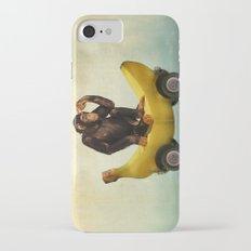 Chimp my Ride iPhone 8 Slim Case