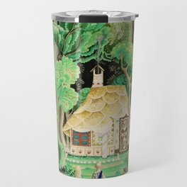1925 Classical Masterpiece 'Hansel and Gretel by Brothers Grimm' by Kay Nielsen Travel Mug