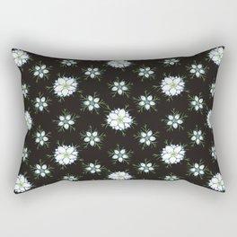 Nigella - Love in the Mist Rectangular Pillow