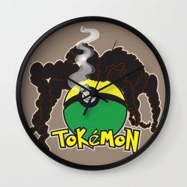 Tokemon Wall Clock
