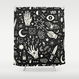 Witchcraft Shower Curtain