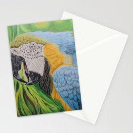 Macaw in the Jungle Stationery Cards