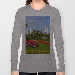 Battersea Power Station and Battersea Park Long Sleeve T-shirt