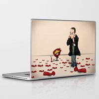 bazinga Laptop & iPad Skins featuring Sheldon Cooper Bazinga by Mowis