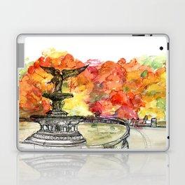 Central Park: Bethesda Fountain Laptop & iPad Skin
