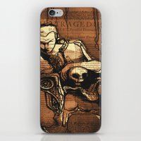 hamlet iPhone & iPod Skins featuring Hamlet Prince of Denmark by Immortal Longings