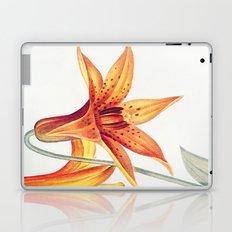 X. Vintage Flowers Botanical Print by Pierre-Joseph Redouté - Meadow Lily Laptop & iPad Skin