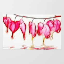 Bleeding Hearts Rug