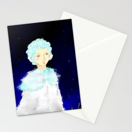 Last snow Stationery Cards