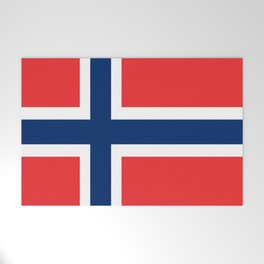 Flag of norway Welcome Mat