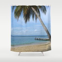 Isle of San Blas PANAMA - the Caribbeans Shower Curtain