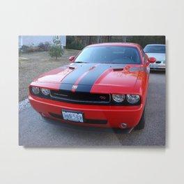 Torred Hemi Challenger RT color photograph / photography / poster Metal Print