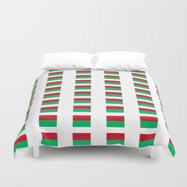 Flag of Madagascar -Malagasy,Madagasikara,Malgache,Bantu,Merina,Antananarivo. Duvet Cover