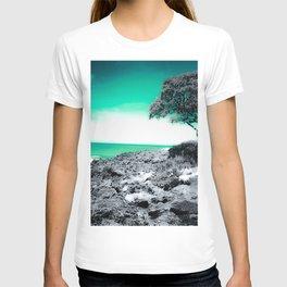 Teal Hawaii T-shirt