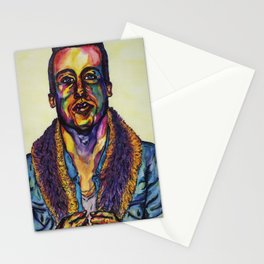 Macklemore Watercolor Portrait Stationery Cards