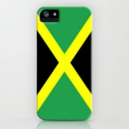 Jamaica Flag iPhone Case