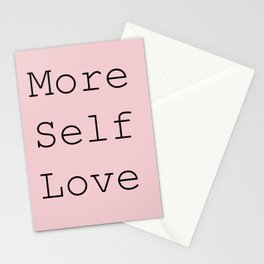 More Self Love Stationery Cards