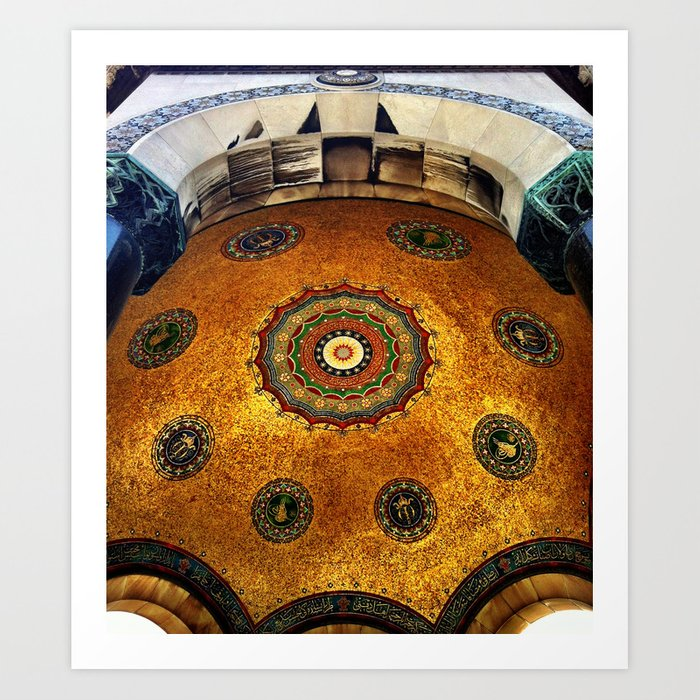 Gold Dome Art Print