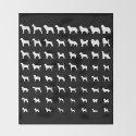 All Dogs (Black) by erinreadesign