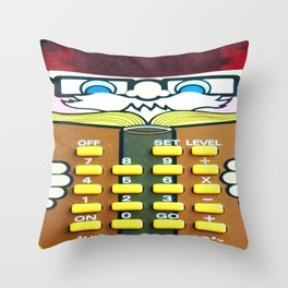 Vintage Calculator Throw Pillow