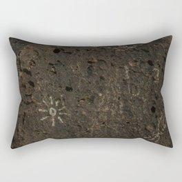 Hieroglyphics Rectangular Pillow