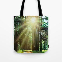 Abstract Forest 4 Tote Bag