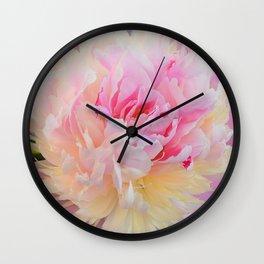 Joy of a Peony by Teresa Thompson Wall Clock