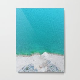 Blue from the top 2 Metal Print