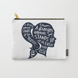 Strong Woman Feminist Feminism Protest Carry-All Pouch