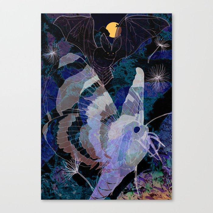 Dark Summer Canvas Print