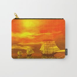 Segelschiffe im Sonnenschein Carry-All Pouch