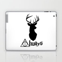 HP Always with Stag Laptop & iPad Skin
