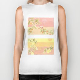 Sunrise Lovers Biker Tank