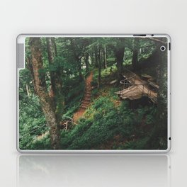 Fairytale Forest, Isle Of Mull Laptop & iPad Skin