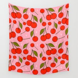 Cherries on Top Wall Tapestry
