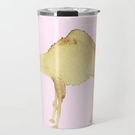 Coffee Stain Camel Travel Mug