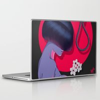 blossom Laptop & iPad Skins featuring Blossom by Musya