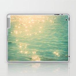 Showering in Sparkling Sunshine Laptop & iPad Skin