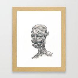 The Devil Within Framed Art Print