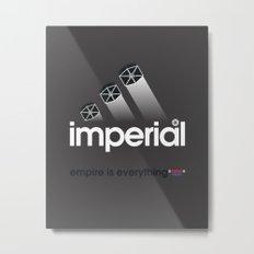 Brand Wars: Imperial Metal Print
