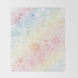 mostly harmless - rainbow Throw Blanket