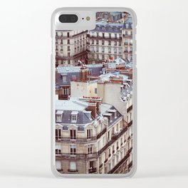 Cafe Clear iPhone Case
