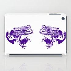 purple frog II iPad Case